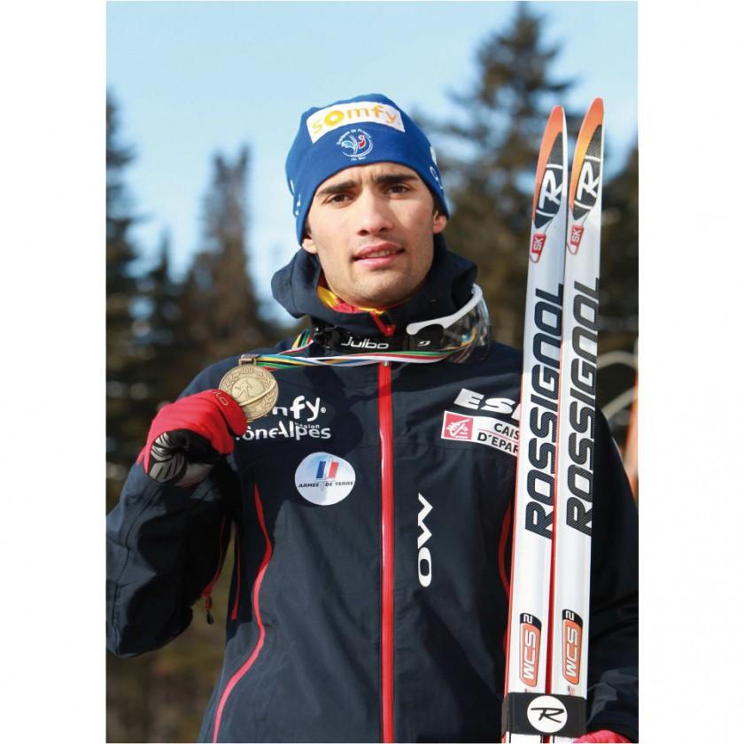 Martin Fourcade: Biathlon-Weltmeister 2012 in Ruhpolding
