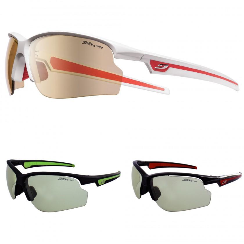ULTRA Sportbrille wei/rot, anthrazit/anisgrn, schwarz/rot 2012