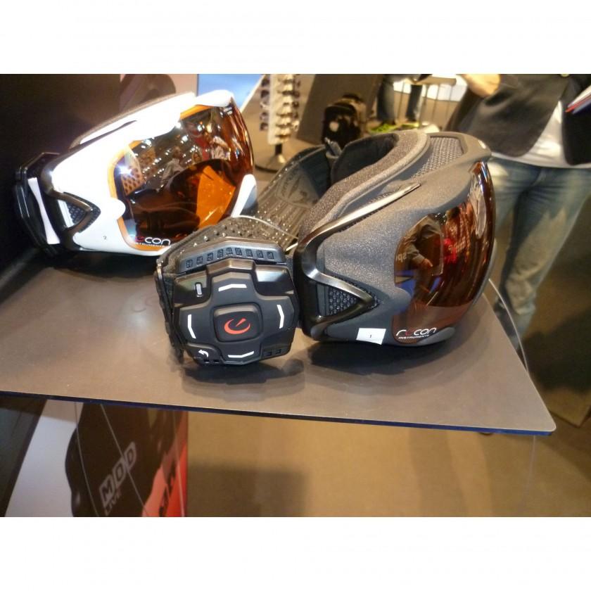 ISPO 2012: Alpina Skibrille R-Tech HM mit Recon Technologie - side
