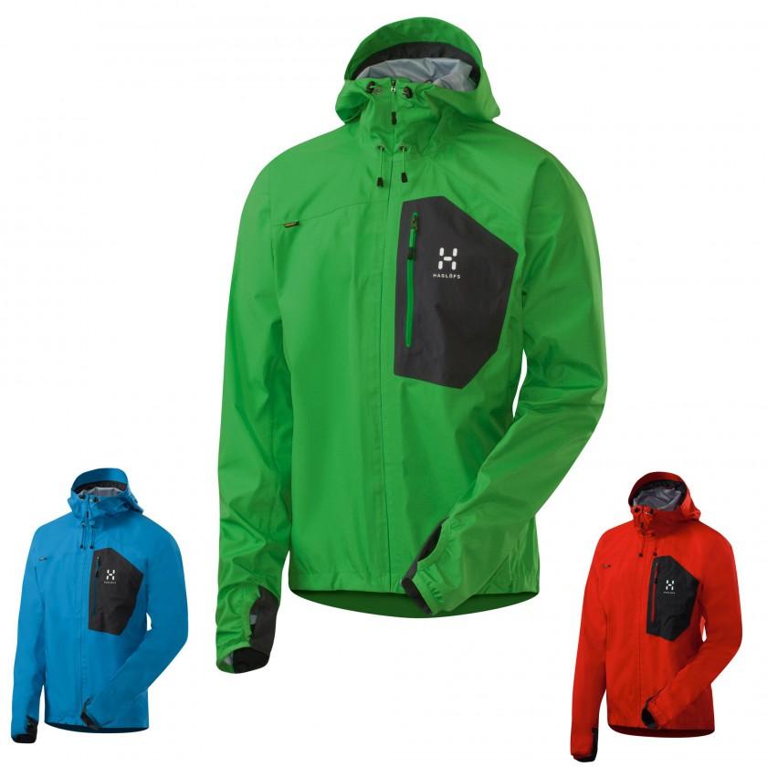 Endo Jacket - Oxid Green/Oxy Blue/Fire 2012