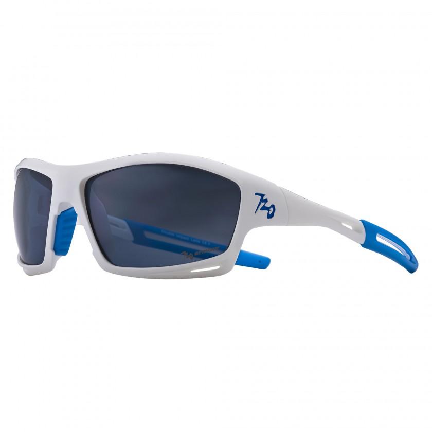 Sportbrille Modell Slew white-blue 2012