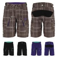 Loft Shorts Women stonecheck/black/violet 2012
