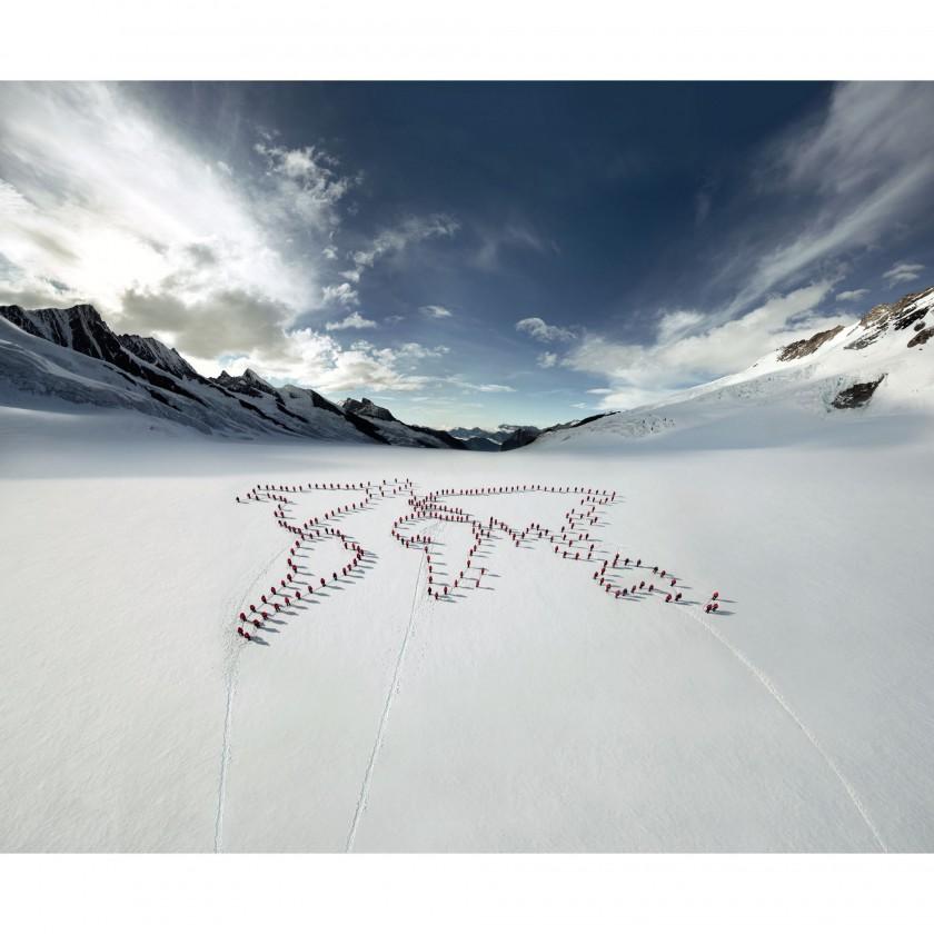 MAMMUT 150 Peaks Project - Weltkarte 2012