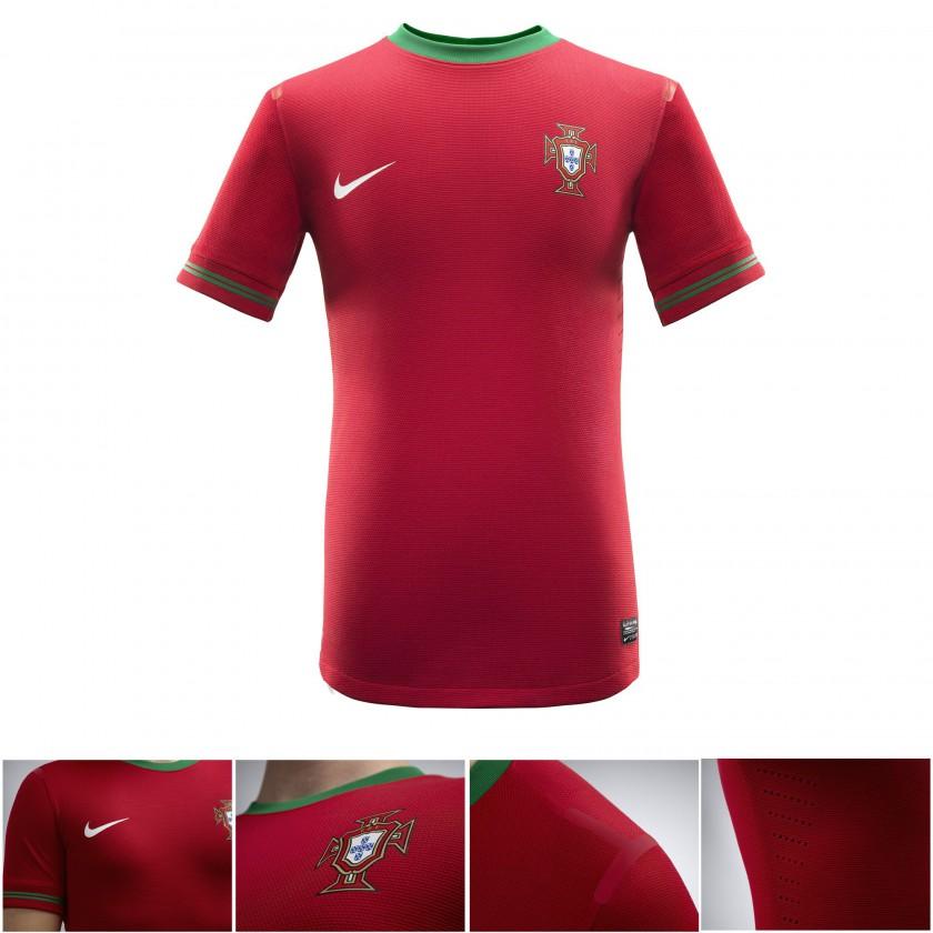 Portugals Nike Nationaltrikot - Home 2012