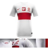Polens Nike Nationaltrikot - Home 2012