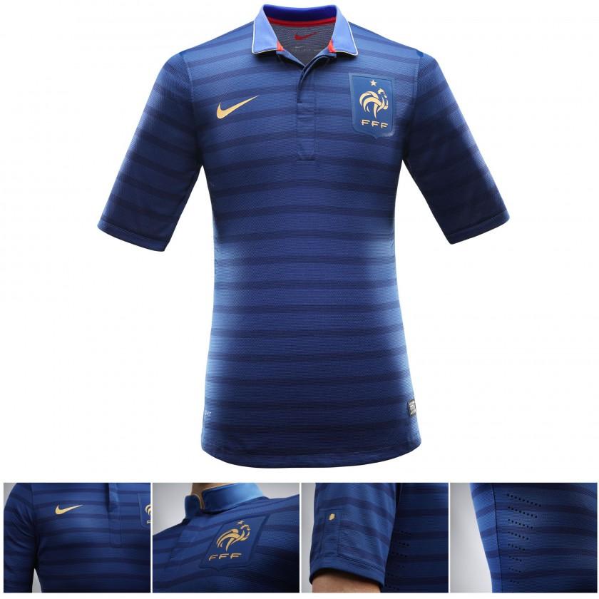 Frankreichs Nike Nationaltrikot - Home 2012