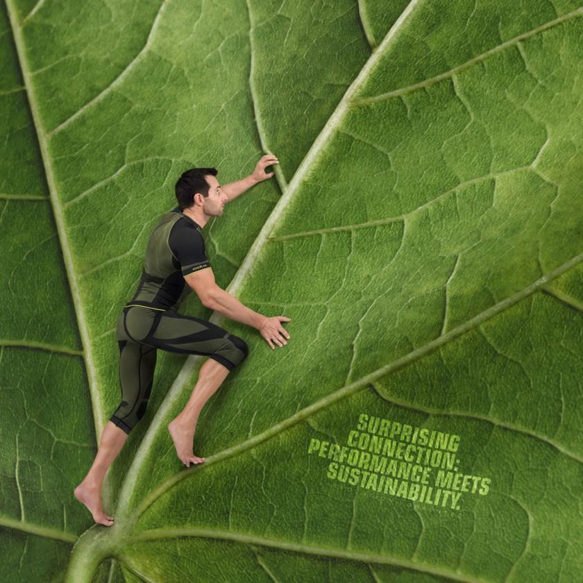 evolution greentec ist im Winter 12/13 die einzige Nahtlos-Unterwäsche aus 100 wiederverwertetem Polyester: Man Action