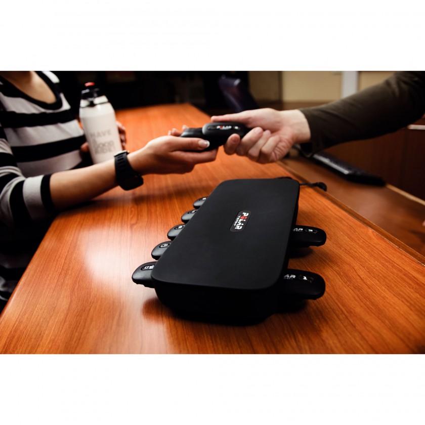 Polar Cardio GX 2.0: Tasche mit den Herzfrequenz-Sendern 2012