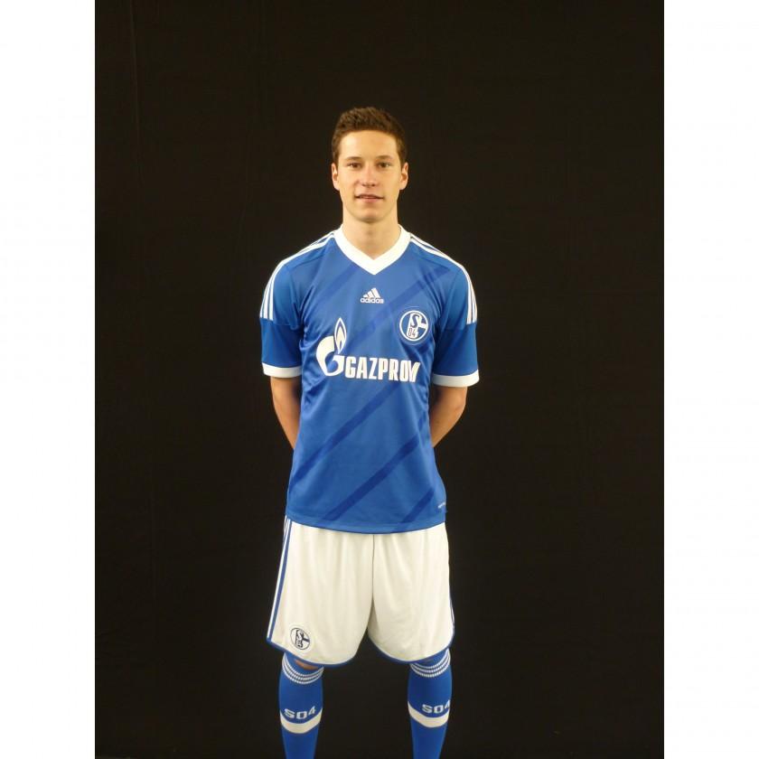 FC Schalke 04: adidas Home-Trikot 2012/13 - Julian Draxler