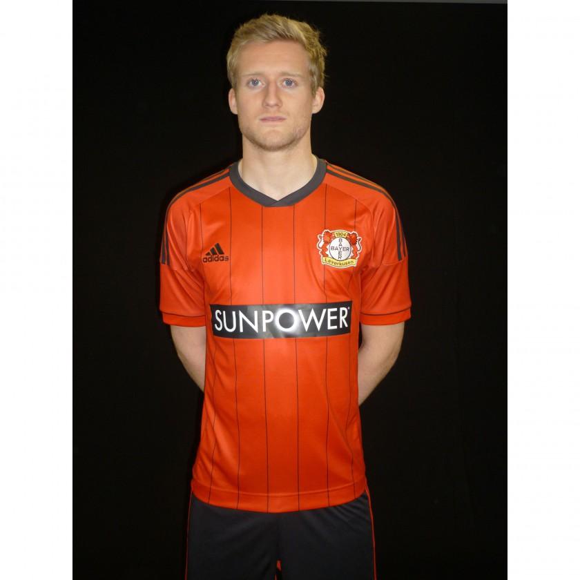 Bayer 04 Leverkusen: adidas Home-Trikot 2012/13 - Andre Schürrle