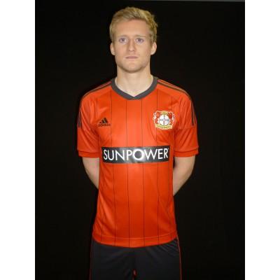 Bayer 04 Leverkusen: adidas Home-Trikot 2012/13 - Andre Schrrle