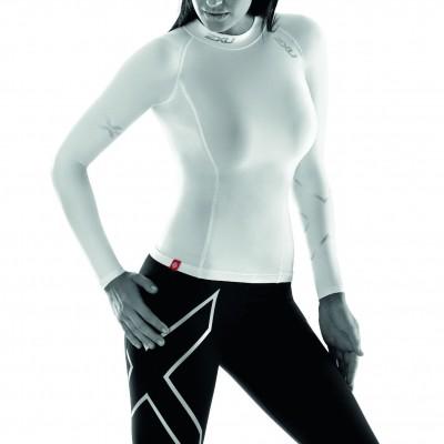 2XU Elite L/S Compression Top Women white 2012