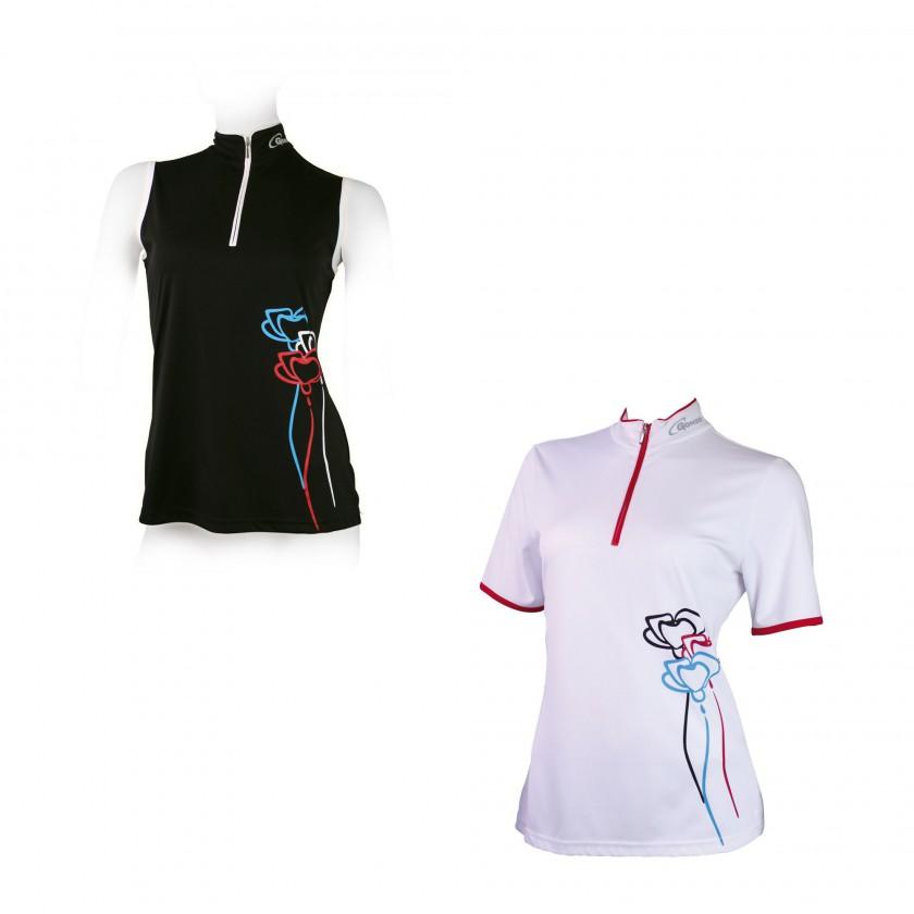 Damen Bike-Shirts JANINA und DIANA mit Agion Active Technologie 2012