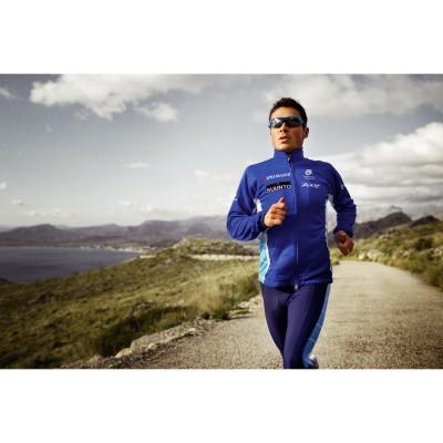 Javier Gomez mit seiner Sportbrille RadarLock von Oakley 2012