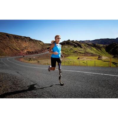 Sarah Reinertsen beim Laufen mit der ssur Flex-Run mit NIKE Sole 2012