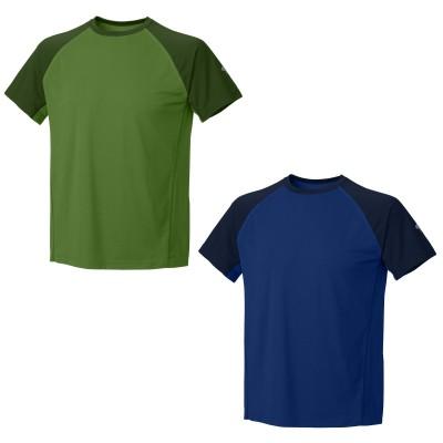 Justo Trek Short Sleeve T green/blue 2012