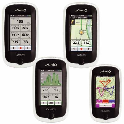 Cyclo 305 GPS-Navigationsgert - verschiedene Ansichten 2012