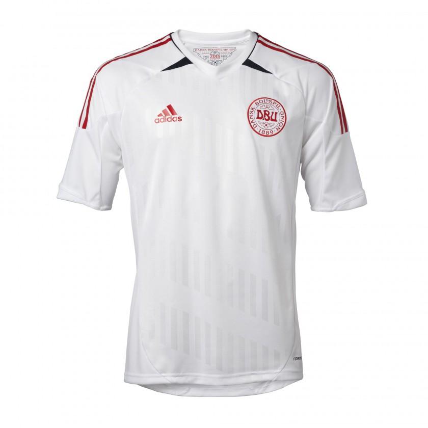 Auswärtstrikot Dänemark für die EM 2012