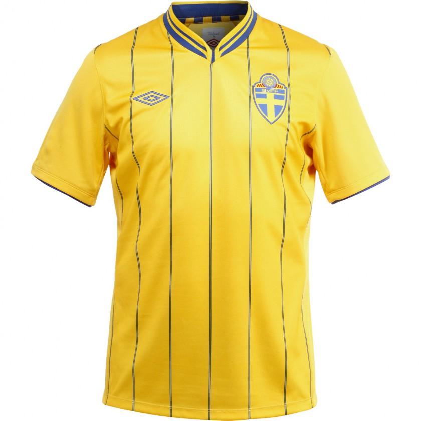 Heimtrikot Schweden fr die Fuball EM 2012