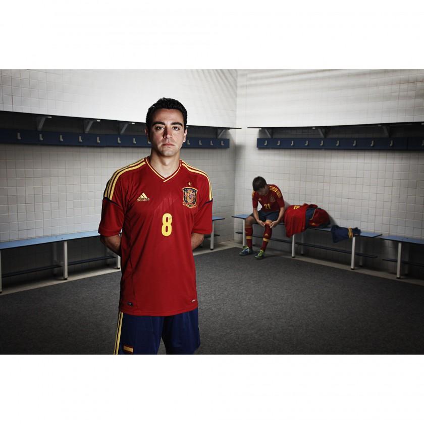 Heimtrikot Spanien für die Fußball EM 2012: Xavi