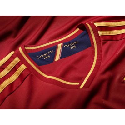 Heimtrikot Spanien fr die Fuball EM 2012: Winner 1964 und 2008