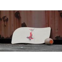 Pedalo-Surf besteht aus Standbrett und Overtwist-Rollen 2012