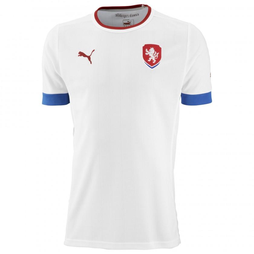 Auswärtstrikot Tschechien für die EM 2012