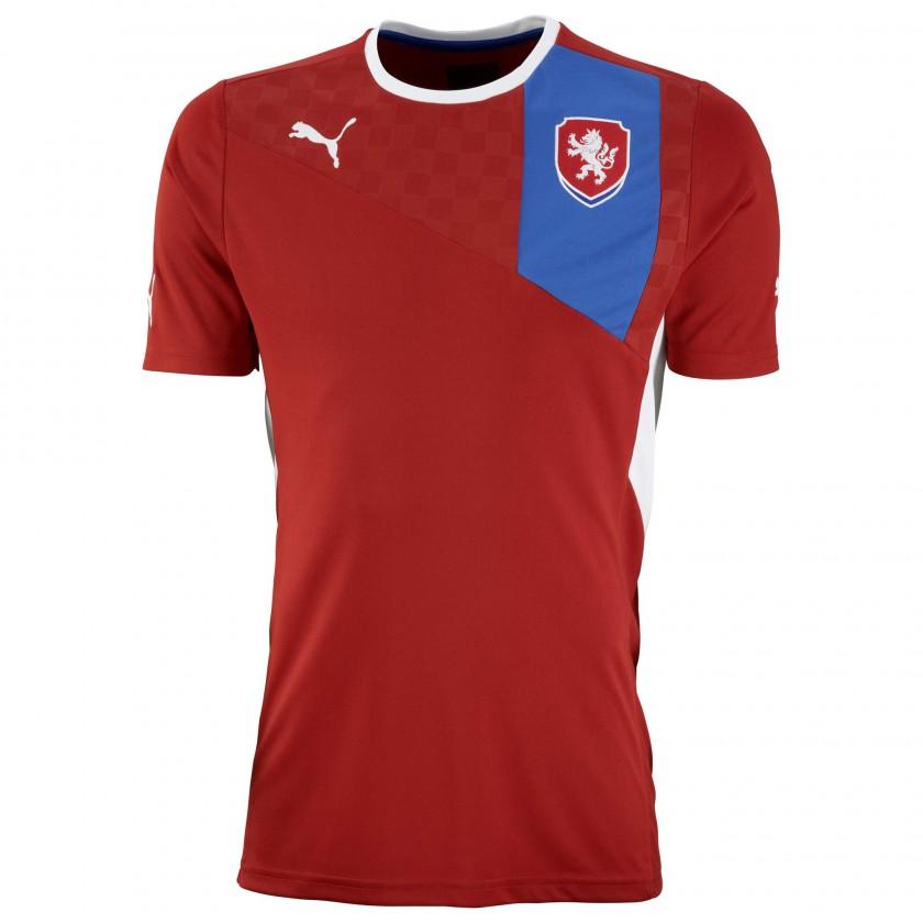 Heimtrikot Tschechien für die EM 2012