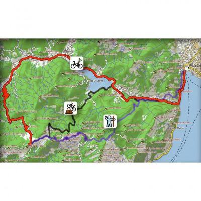 Beispiel fr ActiveRouting mit der TransAlpin 2012 Pro von Riva zum Tremalzo-Pass