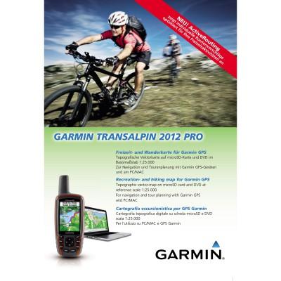 Garmin Cover der TransAlpin 2012 Pro Karte