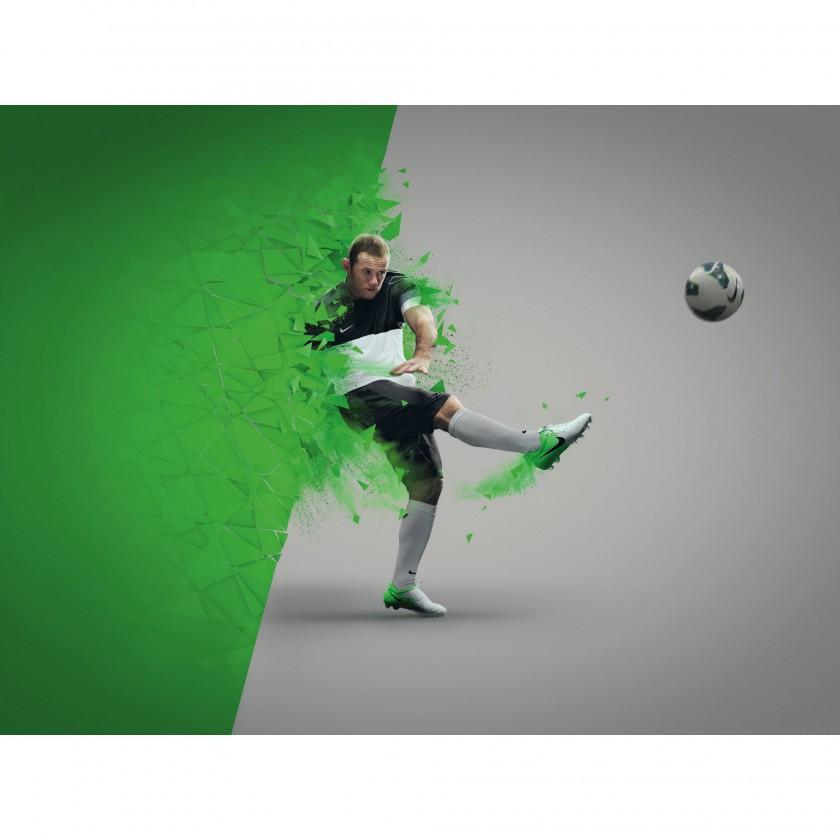 Nike Clash Collection 2012: Wayne Rooney im Total 90 Laser IV CC