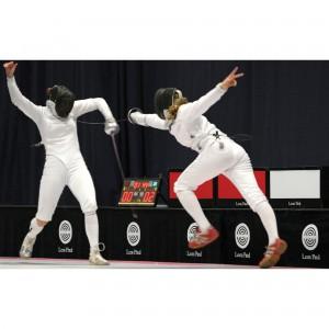 Leon Paul stattet britische Fechtmannschaft mit nahtloser ADVANSA ThermoCool Funktionswsche und Socken bei Olympia 2012 aus