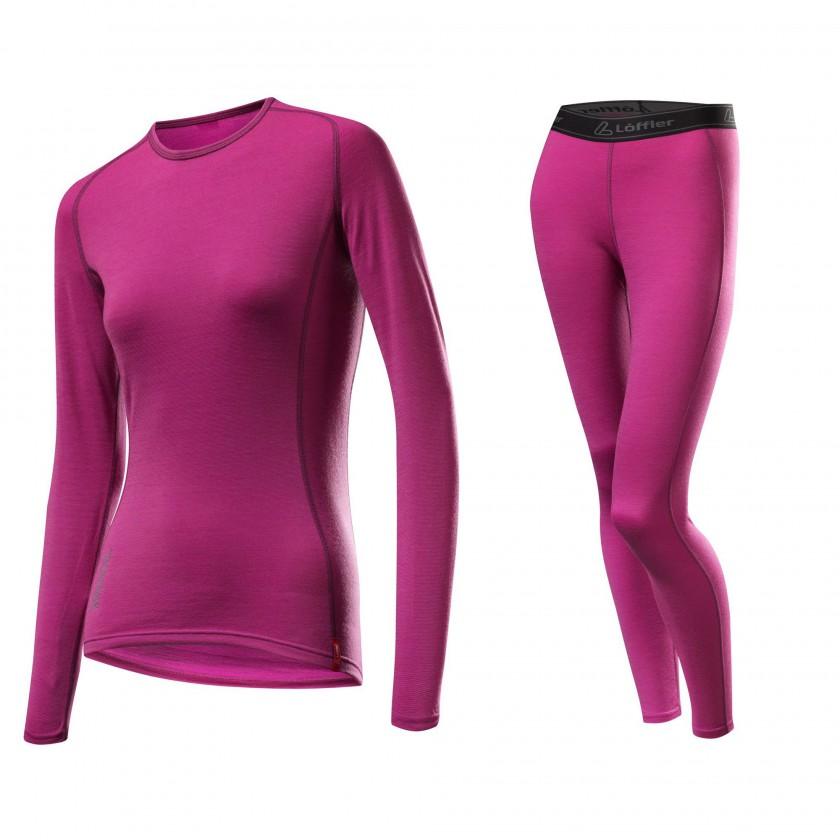 Wool Transtex warm plus Shirt und Pants Women 2012/13