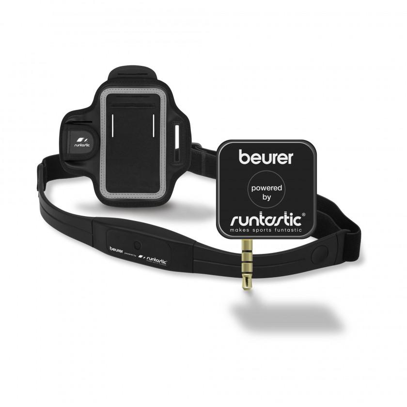 Beurer Pulsmess-System PM200+: Empfänger-Modul, Brustgurt und Sportarmband 2012