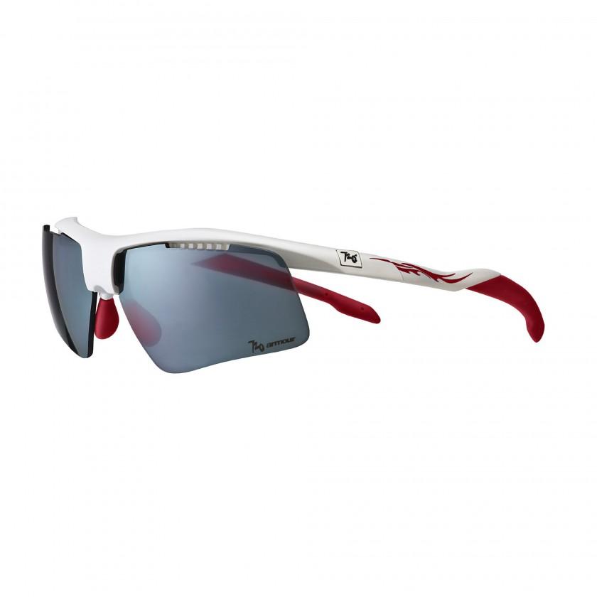 Dart Sportbrille white/red 2013