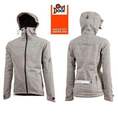 Triple2 Fleek Jacket mit guaranteed green-Sympatex Membran gewinnt Outdoor Industry Award 2012