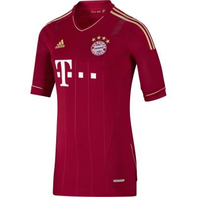 adidas: FC Bayern Mnchen Heim-Trikot 2012/13 mit TechFit Technologie