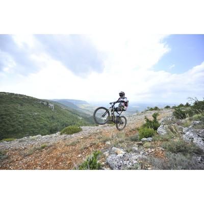 Mountainbike Action in MTB-Schuhen mit Vibram Sohle 2012