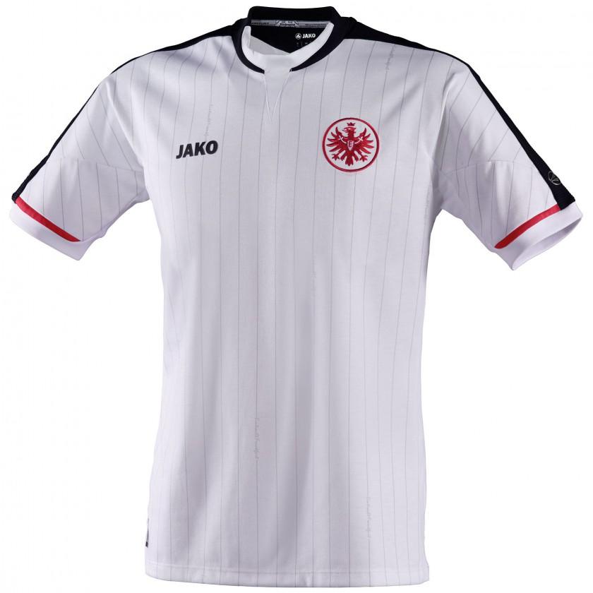 Bild eintracht frankfurt ausw rts trikot fussball for Bundesliga trikots