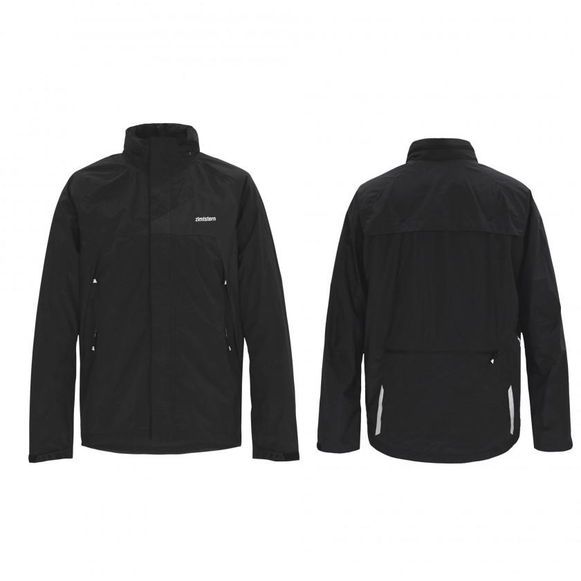 Spark Technichal Rain Jacket Men blue front/back 2013