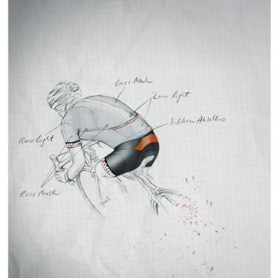 Bike-Pro Race Technologie Illustration 2013