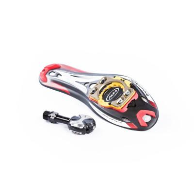 Ultralight Carbon Sohle und Speedplay Adapter 2013