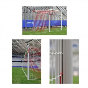 Fussballtor LIGA PRO mit Sicherheits-Netzaufhängung 2012