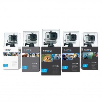 GoPro HD HERO3 Actionkamera Modelle White, Silver und Black 2012