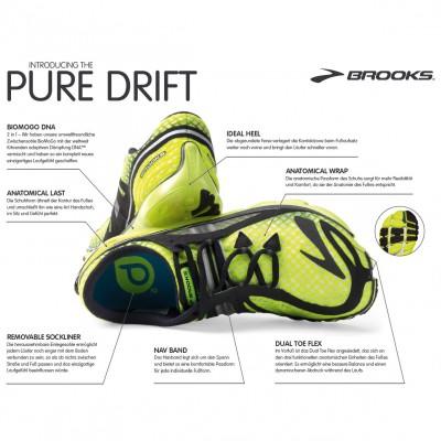 PureDrift Natural Running Laufschuh - Tech Sheet 2013