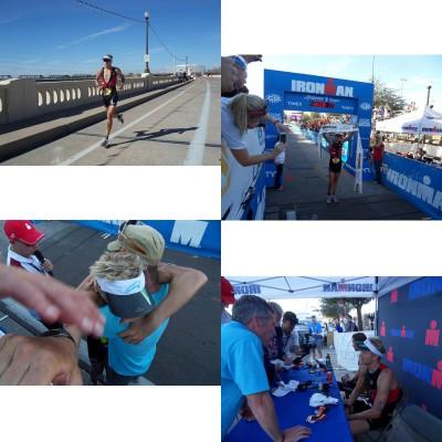 Nils Frommhold bei seinem Ironman Sieg in Arizona 2012 mit seinem screeneye x von o-synce