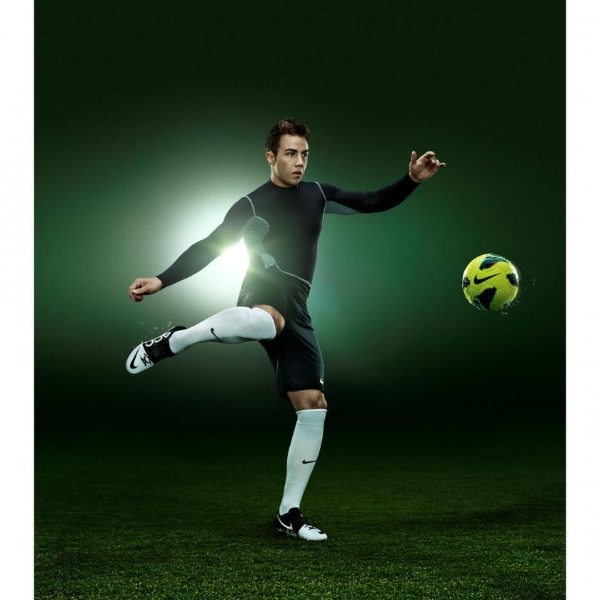Mario Götze im Nike GS2 Fußballschuh mit ACC Technologie 2012