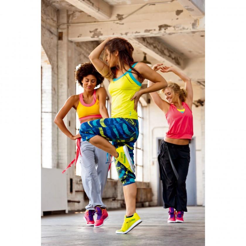 Reebok Dance-Fitness Kollektion Action Group Shot 2013