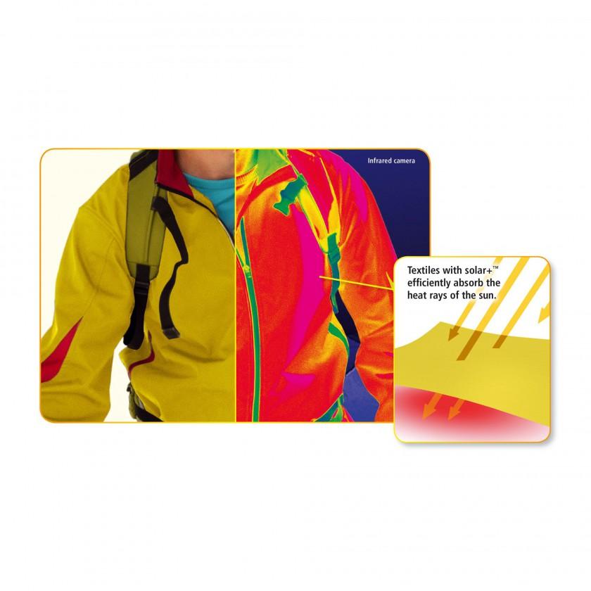 solar+ von Schoeller: Textiltechnologie, die warm hält 2013