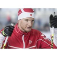 Dario Cologna im Odlo X-Country-Jacket Frequency X Schweiz 2013